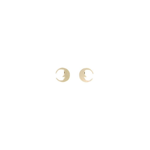 JUSTINE CLENQUENT Moon Earring