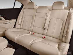 Buick Lacrosse Luxury Sedan Back Seat