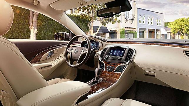 Buick Lacrosse Luxury Sedan - Interior