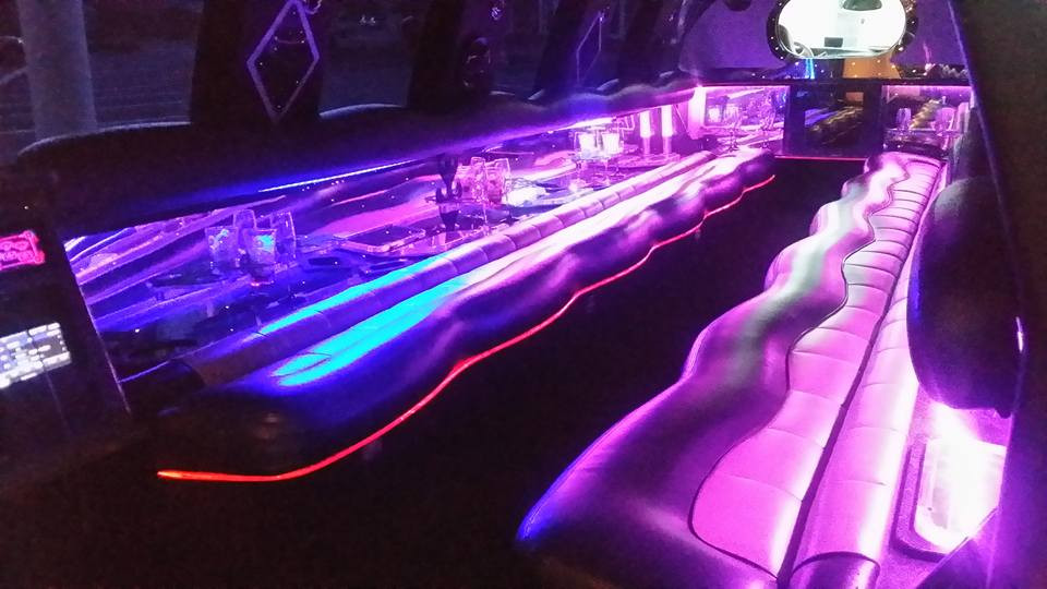 Ford Excursion Limo - Interior