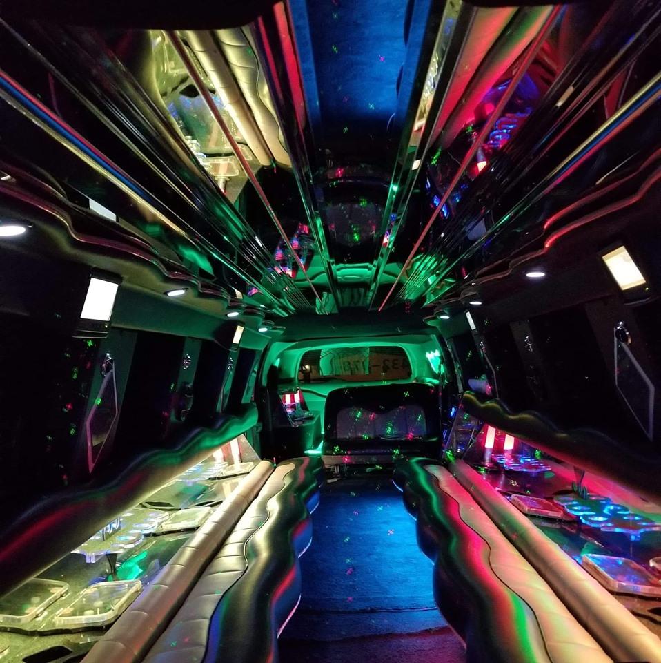 Ford Excursion Super Limo- Interior