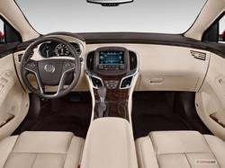 Buick Lacrosse Luxury Sedan Dash View