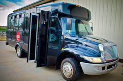 20 Pax Jet Black Party Bus