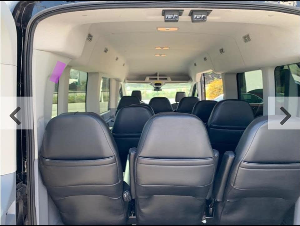 Executive Shuttle Sprinter Van  Interior