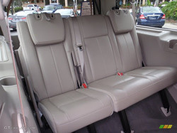 Ford Expedition Extended Luxury SUV Back Seat View