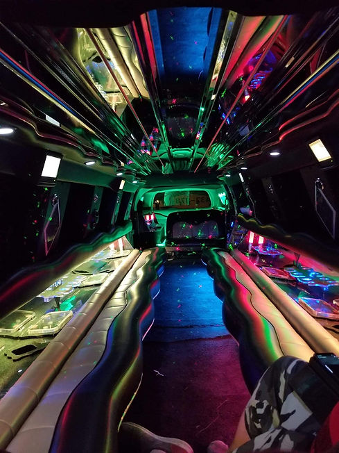 23 Passenger Excursion Stretched Limo In