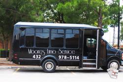 """""""Jet Black"""" Party Bus"""