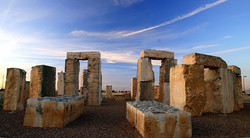 Odessa, TX Stonehenge