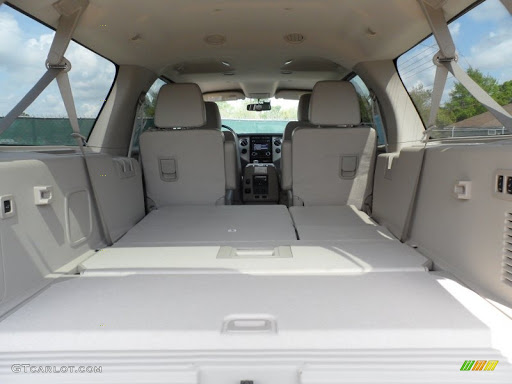 Ford Expedition Extended Luxury SUV Luggage Compartment