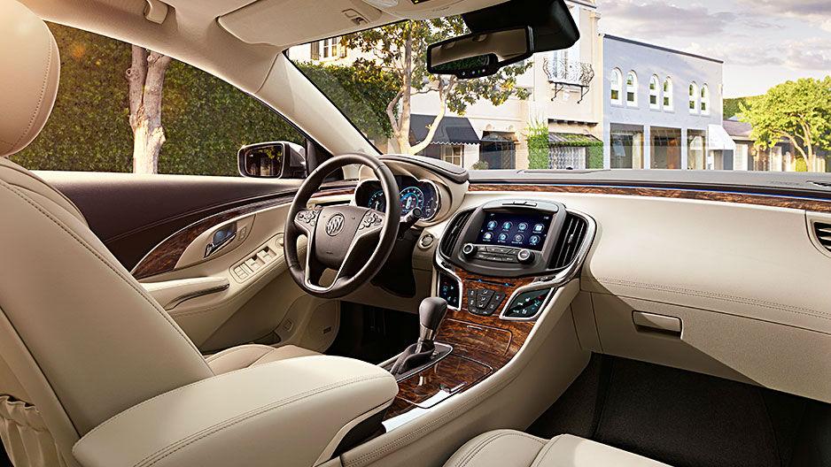 Buick Lacrosse Luxury Sedan Interior