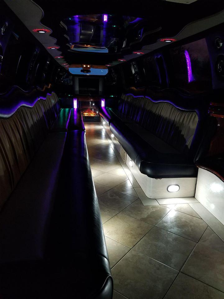 Cadillac Escalade Limo - Interior