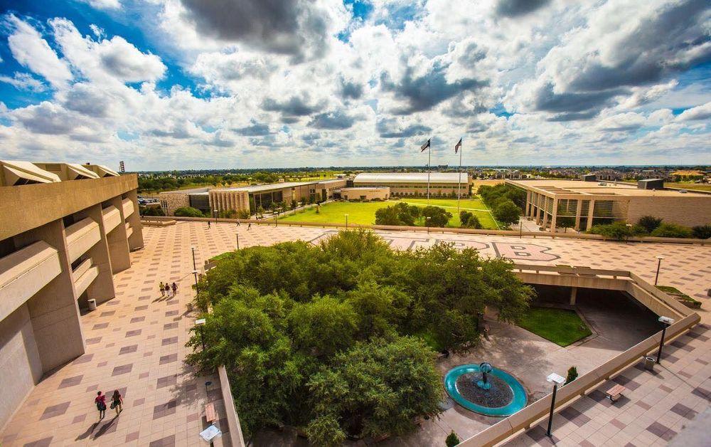 UTPB Campus Aerial View