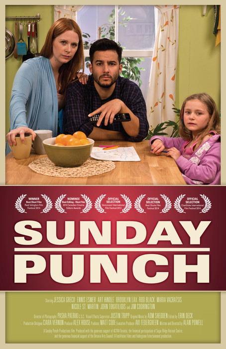 """Sunday Punch"" Semi-Finalist on CBC Short Film Faceoff"