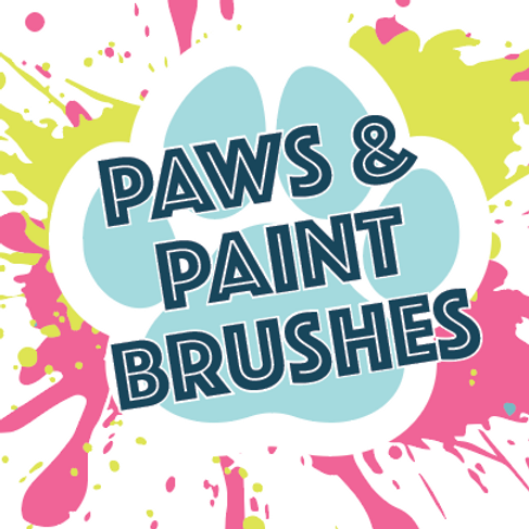 Paws & Paint Brushes - 8/24/19