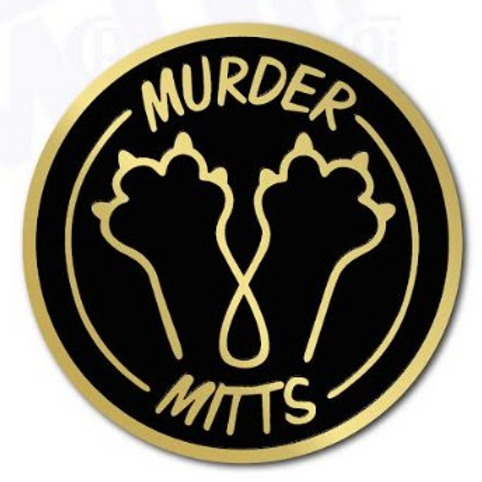 Murder Mitts Pin