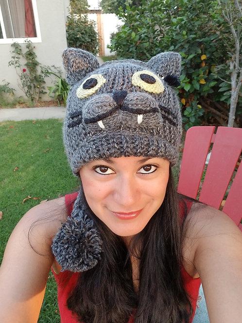 Handmade Hats - Wolfie!
