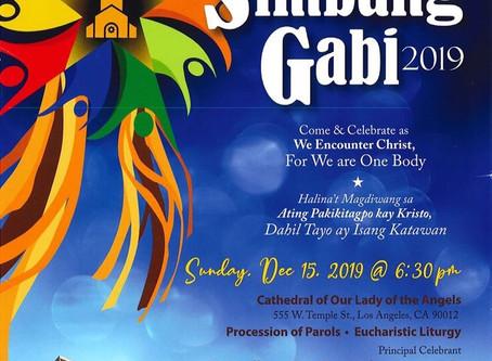 Cathedral Simbang Gabi 2019