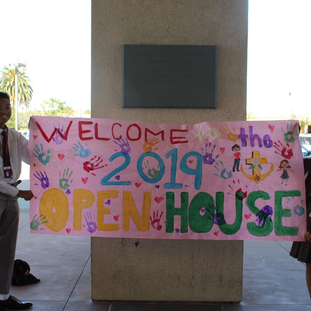 welcome to open house.JPG