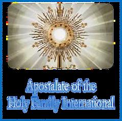 Apostolate of the Holy Family Internatio
