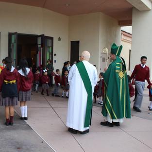 mass with bishop trudeau.JPG
