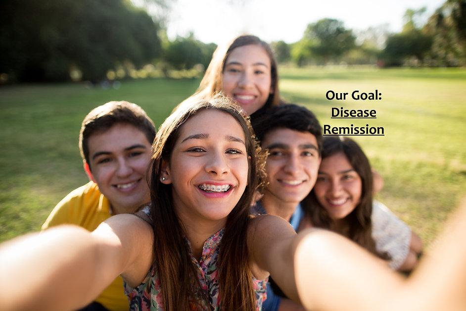 Happy Teens Selfie