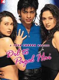 Dil To Pagal Hai (1997) Hindi Movie Bluray    720p [1.5GB]    1080p [3.6GB]