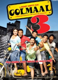 Golmaal 3 (2010) Hindi Movie Bluray    720p [1.3GB]