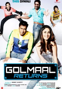 Golmaal Returns (2008) Hindi Movie Bluray    720p [900MB]    1080p [5.8GB]