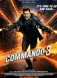 Commando 3 (2019) Hindi Movie Bluray || 480p [400MB] || 720p [1.2GB] || 1080p [3.3GB]