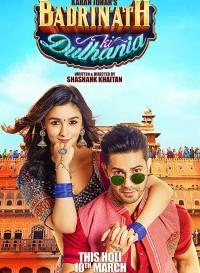 Badrinath Ki Dulhania (2017) Hindi Movie Bluray    720p [1.1GB]    1080p [2.2GB]