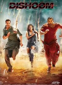 Dishoom (2016) Hindi Movie Bluray    720p [1GB]    1080p [1.5GB]