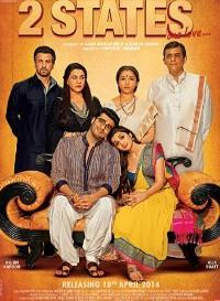 2 States (2014) Hindi Movie Bluray    720p [1.4GB]    1080p [4.8GB]