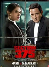 Section 375 (2019) Hindi Movie Bluray || 720p [1.8GB] || 1080p [3.2GB]