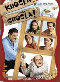 Khosla Ka Ghosla! (2006) Hindi Movie Bluray || 720p [700MB]