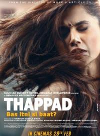 Thappad (2020) Hindi Movie HDRip 480p [450MB]    720p [1.4GB]    1080p [1.4GB]