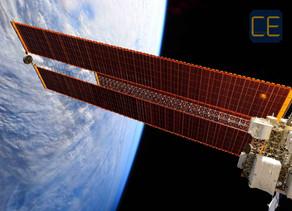Os Painéis Solares da Estação Espacial Internacional
