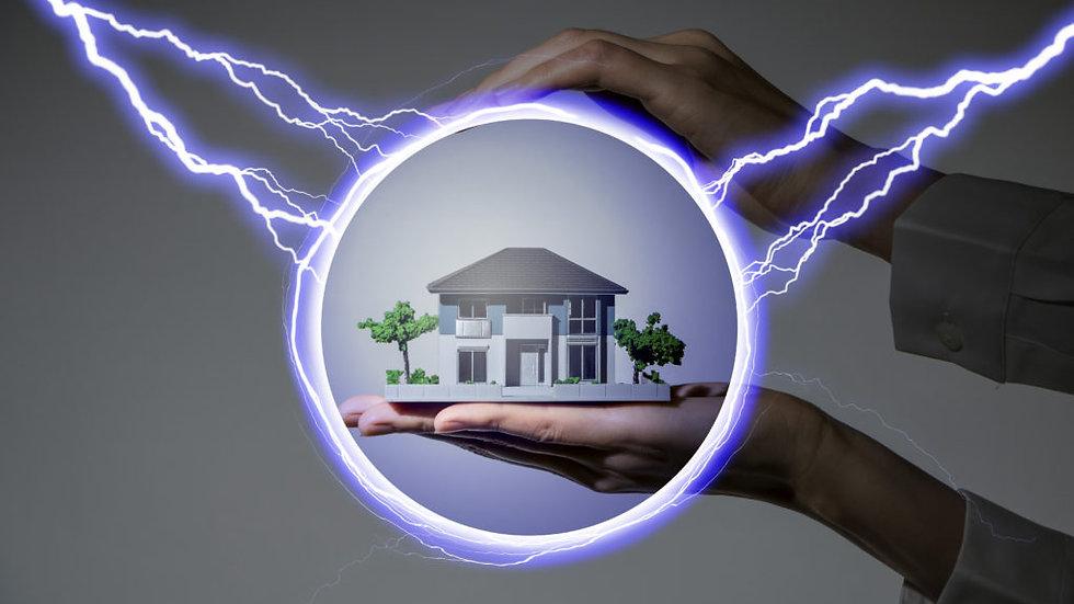 Sistema de Proteção Contra Descargas Atmosféricas p/ Geradores de Energia Solar