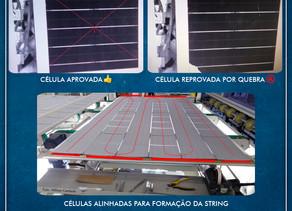 Como são fabricados os módulos fotovoltaicos?