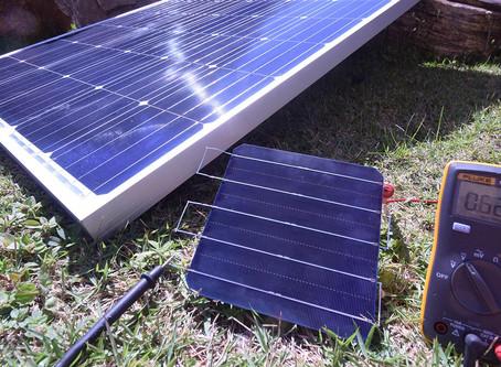 Você sabe qual a tensão (Voc) de uma única célula fotovoltaica?