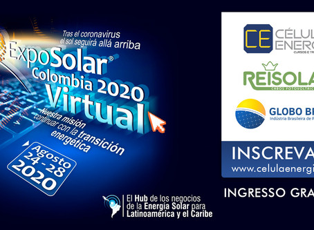 ExpoSolar Colombia 2020 - Feira Virtual