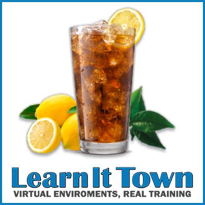 Coffee Shop - iced tea with lemon