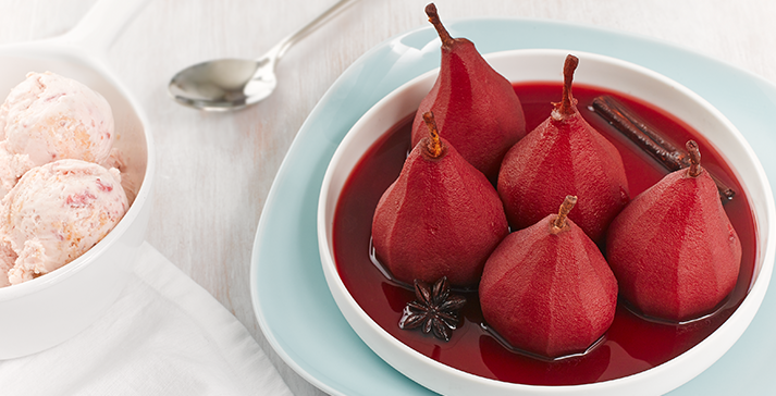 Stoofperen or Christmas Pears