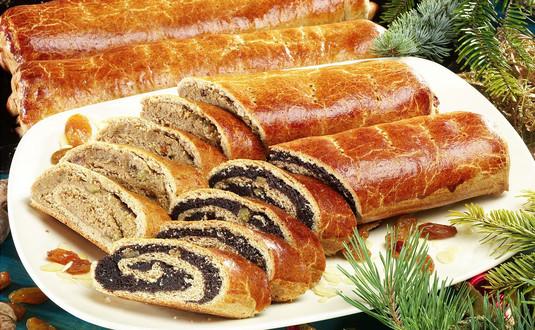 Beigli or Hungarian Christmas Pie