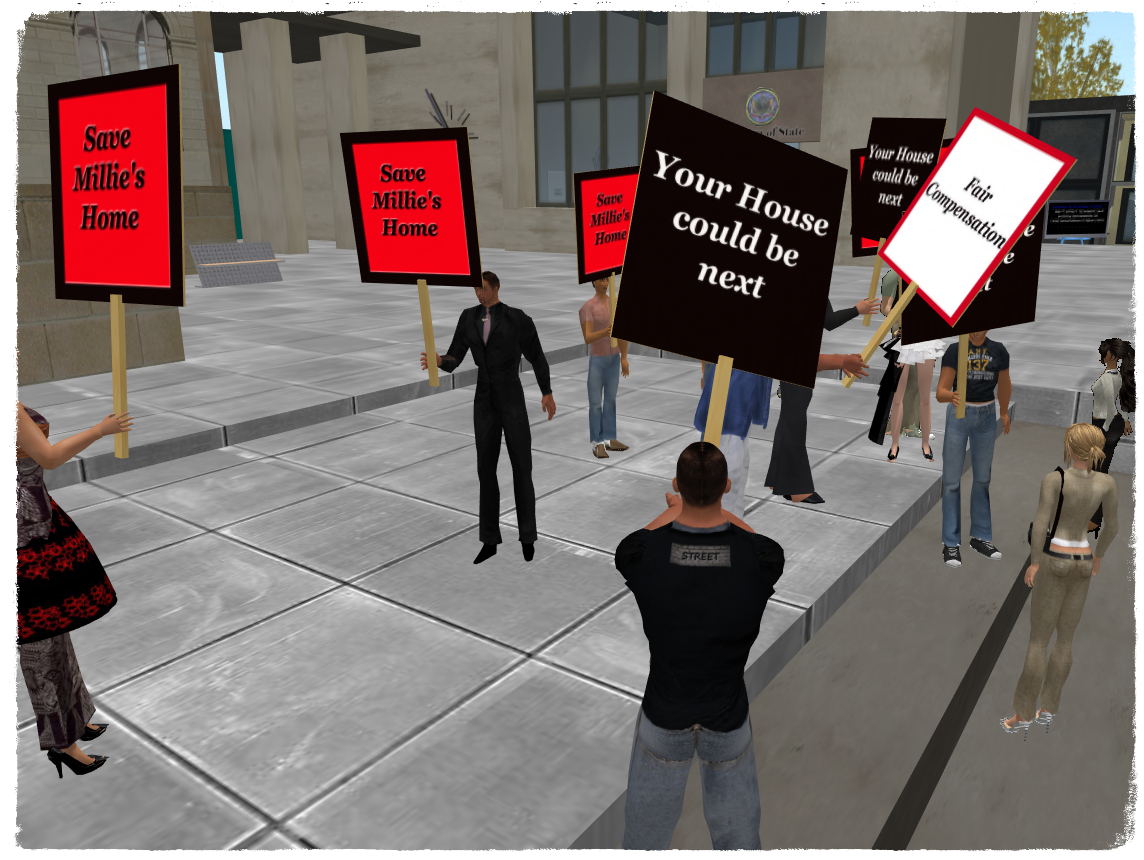 Protesting City Hall