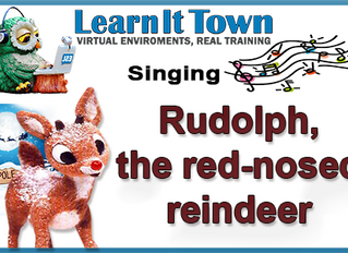 ESL Christmas Song - Rudolph the Red Nose Reindeer
