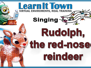 ESL Christmas Song - Rudolph the Red Nose Reindeer-Meghan Trainor