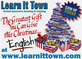 The gift of English classes