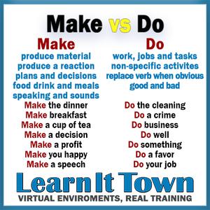Make vs Do