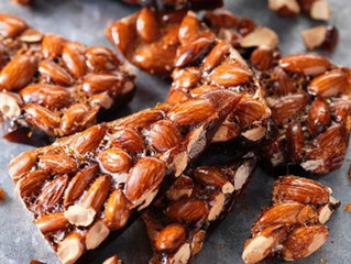 Christmas Recipes - Almond Brittle