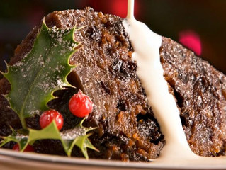 Christmas PLUM PUDDING (England)